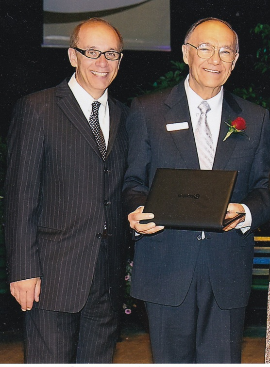 Induction into Edmonton Hall of Fame